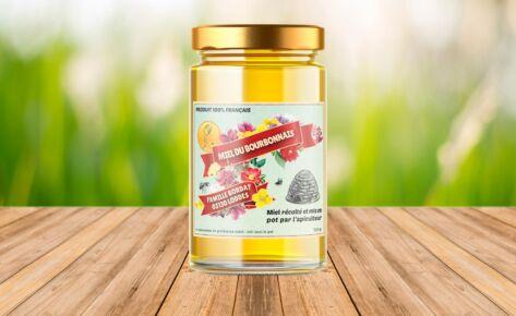 Étiquette – Miel du Bourbonnais