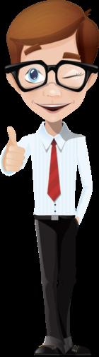 Mascotte entreprise Solutions Digitales Intégrées conception de site web sur mesure.